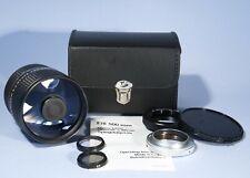 Hanimex 500mm f/8 Macro Prime Mirror Lens * M42 / T2 / Pentax * MINT Condition