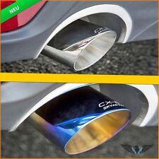 2x Edelstahl Chrom Auspuff Blende Endrohr Schalldämpfer Mazda Cx-5 Cx5