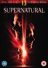 Supernatural: Season 13 (DVD) Jared Padalecki, Jensen Ackles, Mark Sheppard