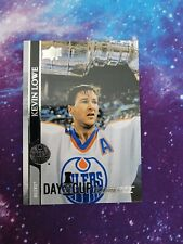20-21 UPPER DECK DAY WITH THE CUP FLASHBACKS OILERS - KEVIN LOWE SSP DCF-3