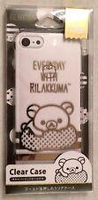 Cute Kawaii Japanese Rilakkuma Phone Case For Iphone 7 Clear