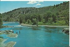 "Vintage Postcard - Gunnison River, CO Colorado Blue Mesa Reservoir KUBC 6"" x 9"""