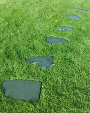 Green / Blue Slate Stepping Stones / Paving Natural Shape Approx 30kg 3,4,5 or 6