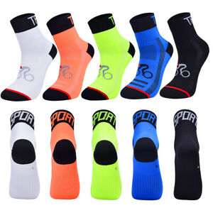 Professional Outdoor Cycling Socks Breathable Running Fitness Sport Socks a Pair