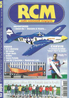 RCM N°249 MAUBOUSSIN CORSAIRE / P 51 MUSTANG / TIGER MOTH ROBBE / GYROS FUTABA