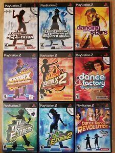 Dance Dance Revolution Games (Playstation 2) DDR & Dancing  PS2  TESTED