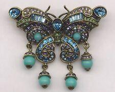 "Heidi Daus ""Butterfly Love"" Crystal Pin Disney's Cinderella Collection (17-2534)"