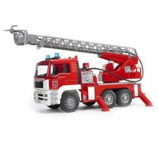 Bruder Man Fire Truck W/ Sound And Light Module, Made in Germany