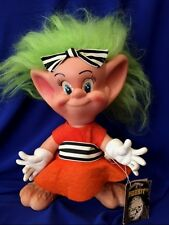 "8"" Hobbit Troll Doll Elf 1973 Royalty Industries All Orig Pamphlet Quiver Hands"