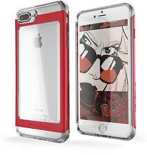 Hybrid iPhone 7 Plus, iPhone 8 plus Case with Slim Tough Shockproof Metal Bumper