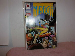 VINTAGE (NEW) VALIANT COMIC  SECOND LIFE OF DOCTOR MIRAGE # 5  .1994.......#451