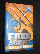 SIGNED; Free Agent by Jeremy Duns - 2009-1st - Debut Thriller, Crime Hardcover