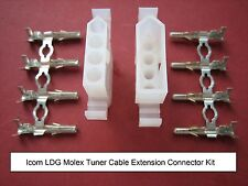 Icom LDG Molex Heavy Duty Tuner Extension Connecteur Kit automatique d'antenne ATU