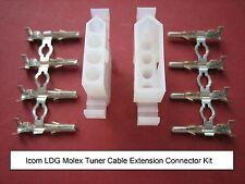 ICOM LDG Molex Heavy Duty Tuner Extension Connector Kit Automatic Antenna ATU