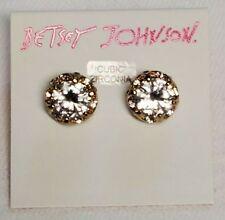 Betsey Johnson Cubic Zirconia Earrings