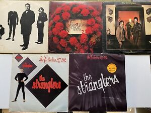 The Stranglers Vinyl LP Bundle Job Lot Collection Mixed Conditions X 5 Records