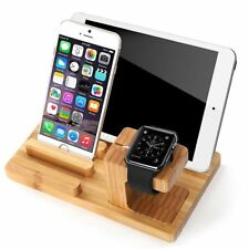 Charging Wooden Base Mobile Phone Porous Charging Support Apple Watch/iwatch