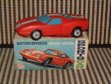"MARX TOYS, BATTERY, ""TRICKEY ACTION SPORTS CAR""  IN ORIGINAL BOX/FULLY WORKING!"