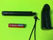 High Power FOCUSING Green MILITARY GRADE Laser Pointer 532nm W/BATTERY & CHARGER