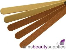 Strictly Professional 10 Large Nail Files Emery Boards Art Manicure Emeryboard