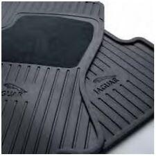 Jaguar OEM Accessory Rubber Front Floor Mats 2005-2008  X-Type C2S35350