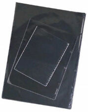 100 A2 Portfolio Sleeves - Glass Clear - Acid Free