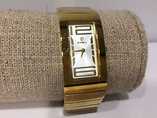Reloj Watch Montre BREIL Milano - Quartz - Golden Steel - 40 x 20 mm