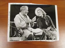 Vintage Glossy Press Photo Actors Mary Martin & Anthony Quayle, Somersaults  #1