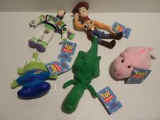 Thinkway Toys Disney Toy Story Buzz, Woody, Hamm, Rex, Alien Mini Buddies Beanie