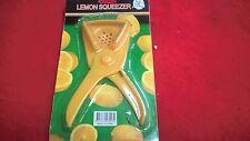 Lemon Lime Squeezer Hand Press Juicer Strainer PLASTIC Plated 5 1/2''L,2 3/4''W