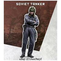 1/35 Soviet Tanker Soldier Resin Kits Unpainted Figure Model GK