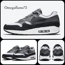 Nike Air Max 1 og, BQ5075-001, Talla Reino Unido 12, 47.5 de la UE, EE. UU. 13, negro y gris Lobo