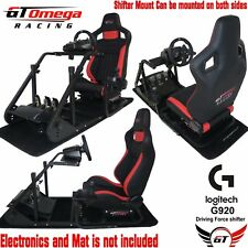GT Omega ART Simulator Cockpit RS6 for Logitech G920 Racing wheel shifter xbox 1