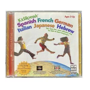 Scholastic_Spanish French German Italian Japanese Hebrew_Learn Languages_Win Mac