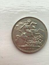 1902 King Edward V11 Silver Crown Good Collectable Grade (Pre 1920 Silver Coin)