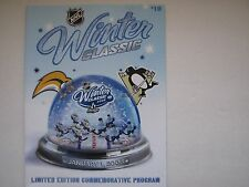 2008 NHL FIRST WINTER CLASSIC PITTSBURGH PENGUINS VS BUFFALO SABRES PROGRAM
