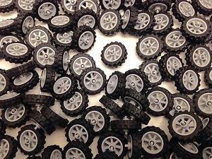 LEGO 50861 50862 - NEW Moto Cross Motor Bike Wheels / 4 Wheels & Tyres Per Order