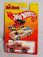 Hot Wheels 2012 The Hot Ones Series Subaru B.R.A.T Orange Brat w/ Gold HOs