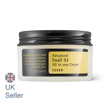 COSRX Advanced Snail 92 All in one Cream, 100ml, Anti ageing, UK Seller