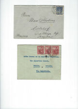 ARGENTINA-OLDER-COVERS-SIX PIECES--USED-FINE-MOST EXTERNAL-6  PIECES-#525