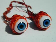 Halloween Horror Prop Realistic Life Size Pair of  Ripped Out Eyeballs -  FE02