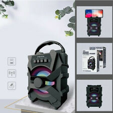 CASSA PORTATILE CON RADIO FM USB SD MP3 BLUETOOTH SMARTPHONE SPEAKER PC PRODA