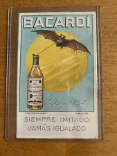 Bacardi Postcard Postmarked 1939 Made In Cuba