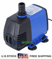110V Submersible Water Pump 739.7GPH Fish Tank Pond Fountain Fall Hydroponic 32W