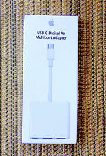 Genuine Apple USB-C Digital AV Multiport Adapter for MacBook - NEW