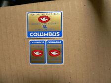 stickers adesivi per bici da corsa vintage columbus SL 3 pezzi