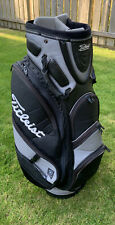 Titleist Premium Golf Cart Bag w/ Rain Hood - Black & Grey