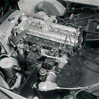 Aston Martin DB2-4 Mark III 1957 model OLD CAR ROAD TEST PHOTO 9