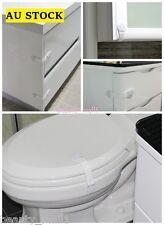 6-PACK Baby Child Toilet Door Drawer Cupboard Cabinet Lock/ Multipurpose Latch