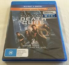 The Maze Runner Death Cure Includes Comic Book Blu-ray DVD 2018 M